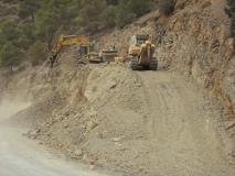 Travaux d'aménagement sur 23 Km et réalisation de l'évitement d'Ighil-Ali et Aït-R'zine, Béjaïa