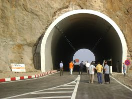 Novembre Tunnel a Aokas Bejaia